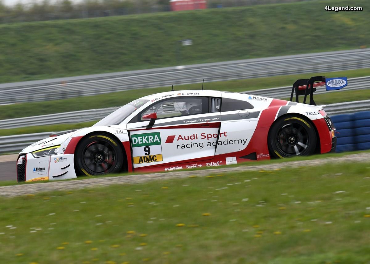 10 Audi R8 LMS engagées en ADAC GT Masters