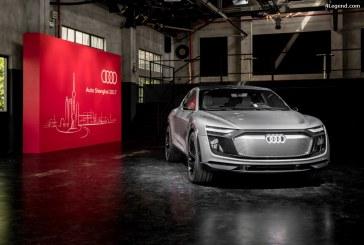 Auto Shanghai 2017 – Audi e-tron Sportback concept – L'architecture de l'e-mobilité selon Audi