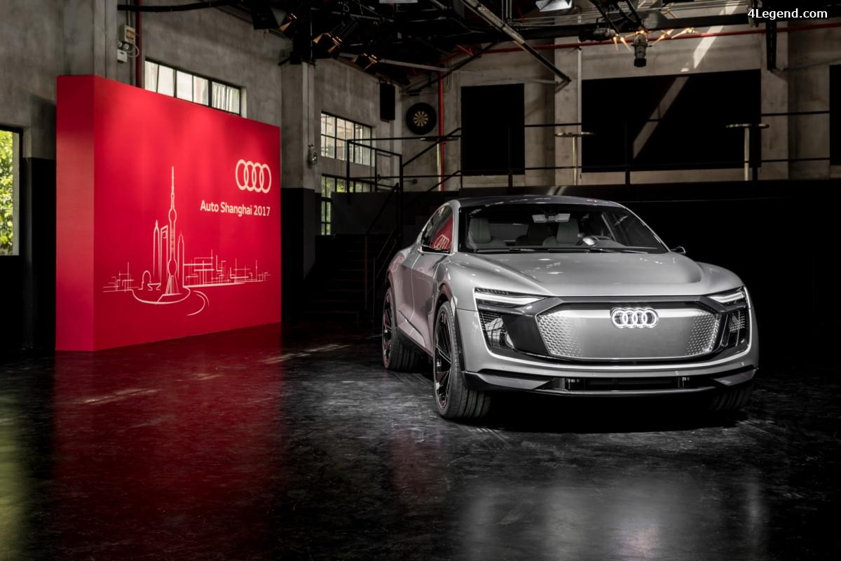 Auto Shanghai 2017 - Audi e-tron Sportback concept - L'architecture de l'e-mobilité selon Audi