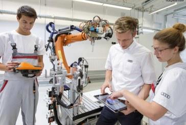 Audi a été élue, une fois de plus, «la meilleure entreprise de formation» en 2017