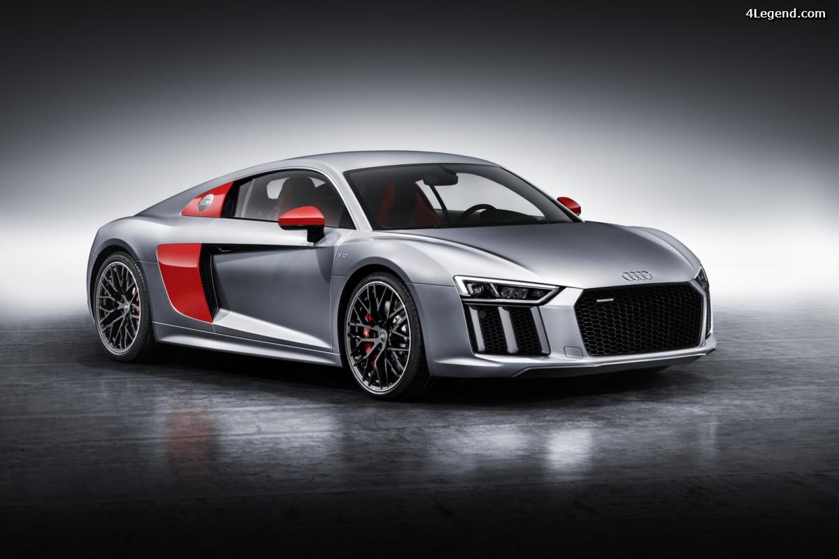 Audi R8 Coupé Edition Audi Sport - Une série limitée à 200 exemplaires