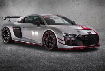 Nouvelle Audi R8 LMS GT4 proposée par l'Audi Sport customer racing pour courir en GT4