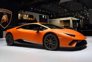 Auto Shanghai 2017 – Débuts des Lamborghini Huracán Performante et Aventador S en Asie