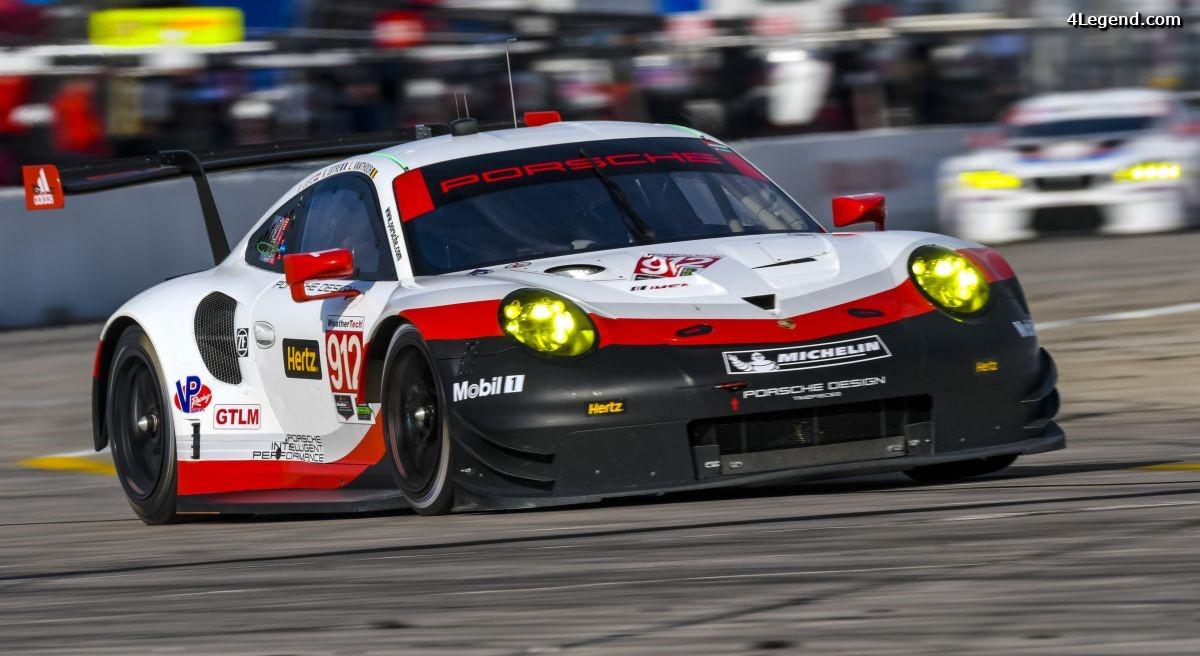IMSA - Les deux nouvelles Porsche 911 RSR s'attaquent à la plus courte course de la saison à Long Beach