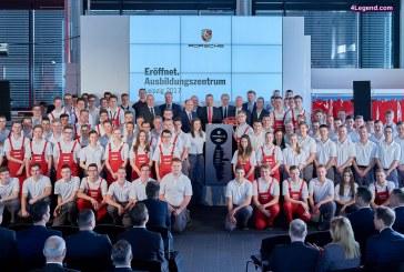 Porsche ouvre un nouveau centre de formation à Leipzig