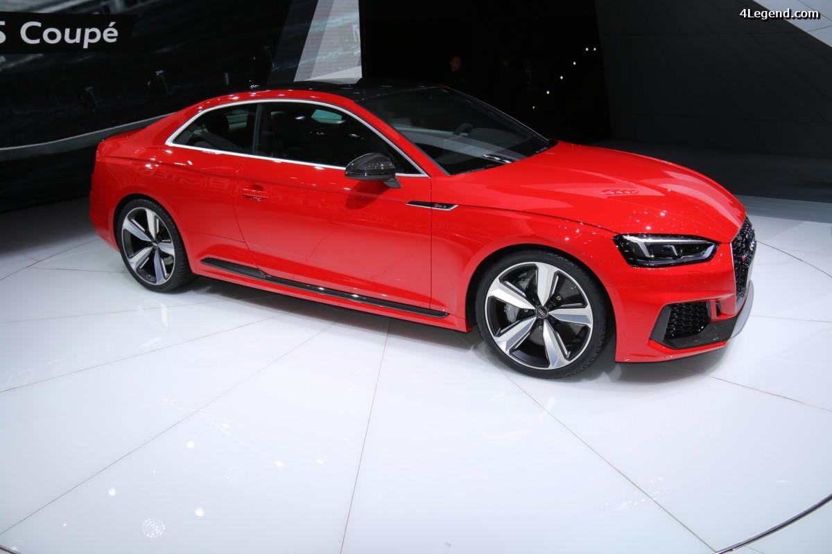 Ouverture des commandes pour la nouvelle Audi RS 5 Coupé - Tarifs 2017