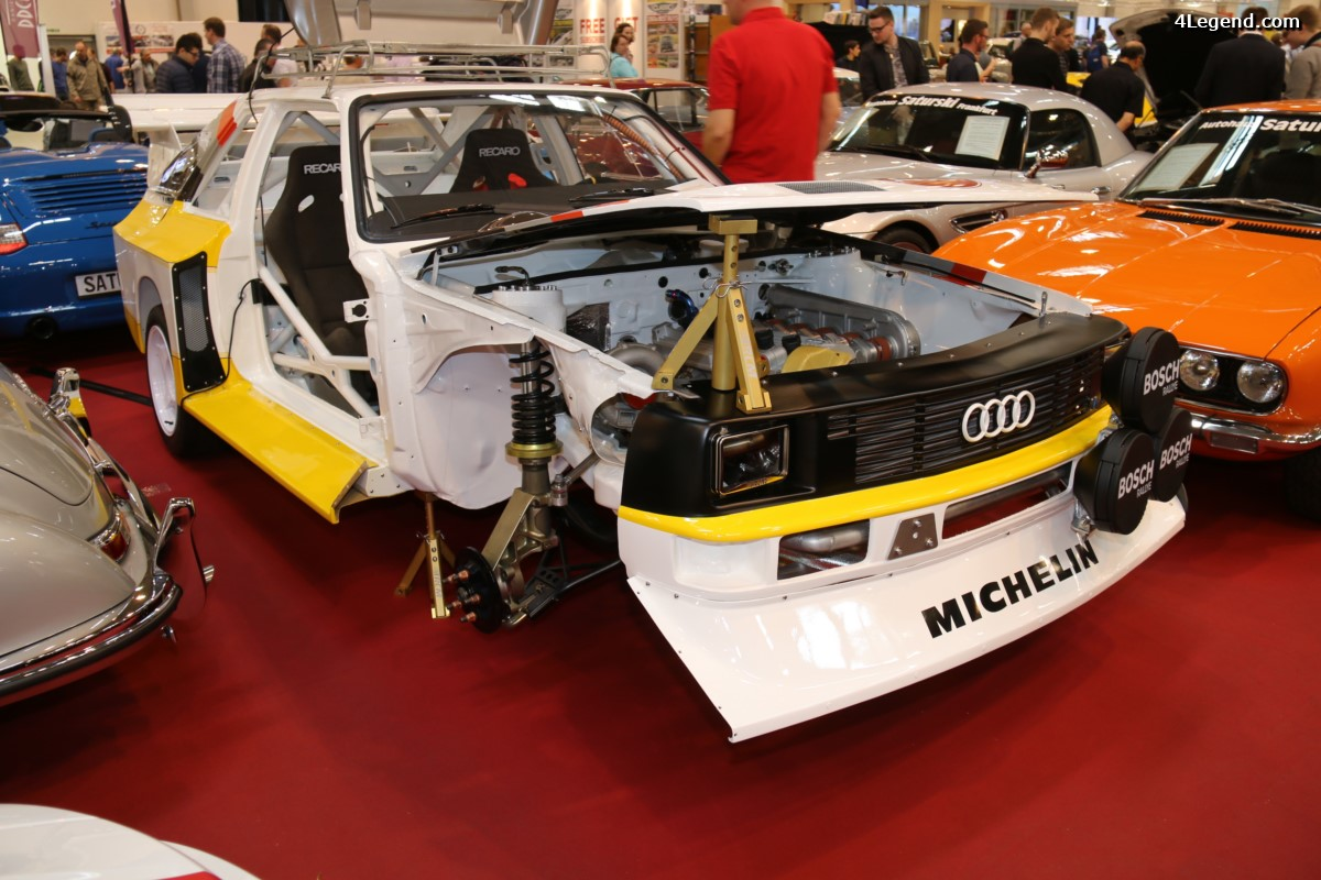 Techno Classica 2017 - Fabrication sur demande d'Audi Sport quattro S1 E2 Replica par Race Car Manufaktur (RCM)