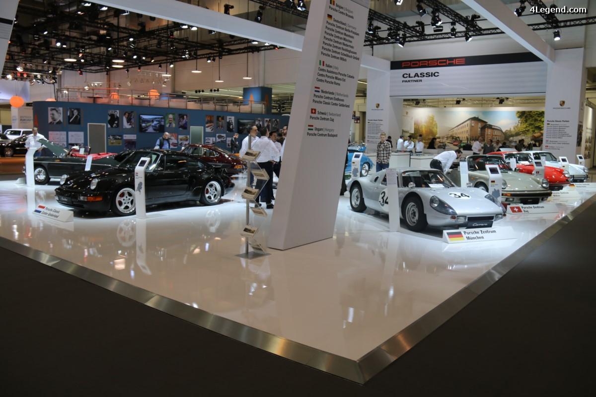 Techno Classica 2017 - Stands Porsche Classic Partners