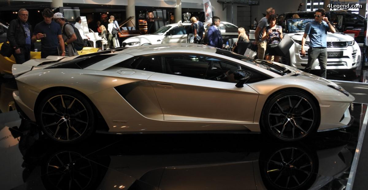 Top Marques 2017 - Lamborghini à l'honneur avec l'Aventador S et le Lamborghini Centenario Tractori