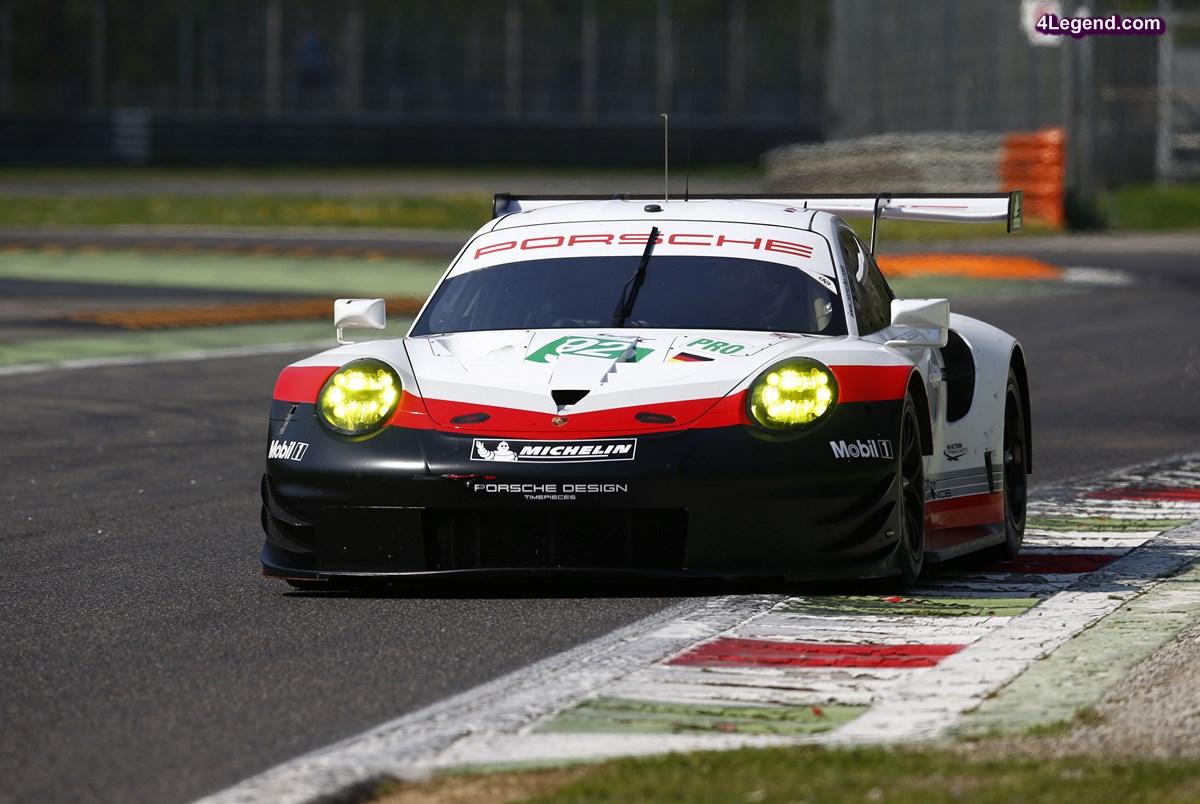 WEC - Un système innovant pour la Balance des Performances LMGTE 2017 dont Porsche est concernée