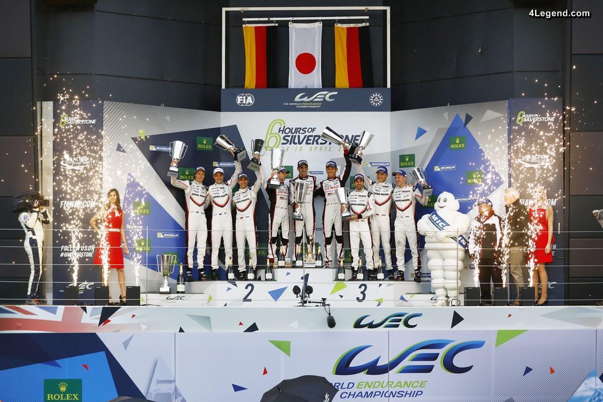 WEC - Podium pour les Porsche 919 Hybrid aux 6 Heures de Silverstone