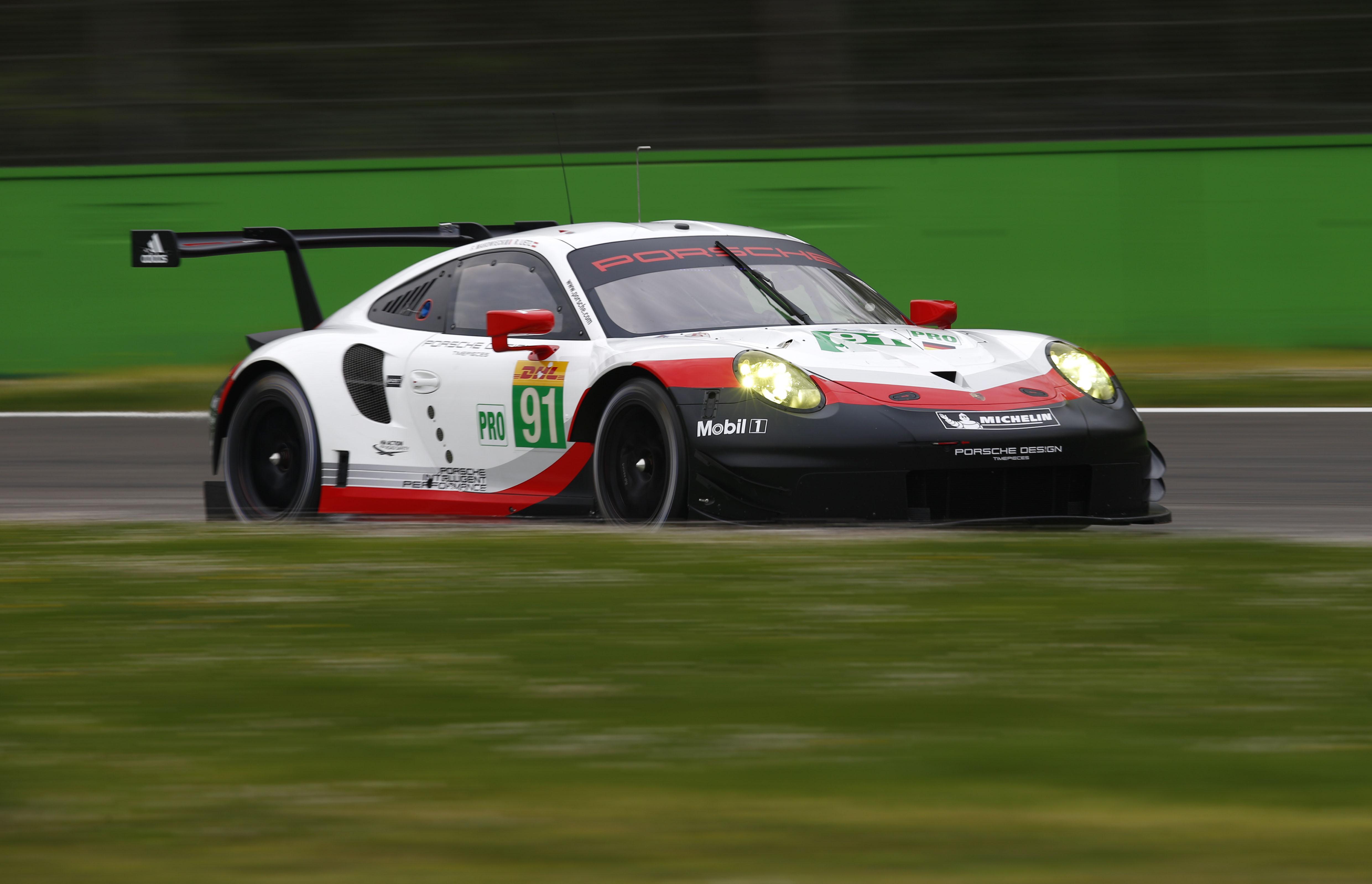 WEC Prologue - Les pilotes Patrick Pilet & Dirk Werner sont les 3ème pilotes de Porsche GT aux 24 Heures du Mans 2017