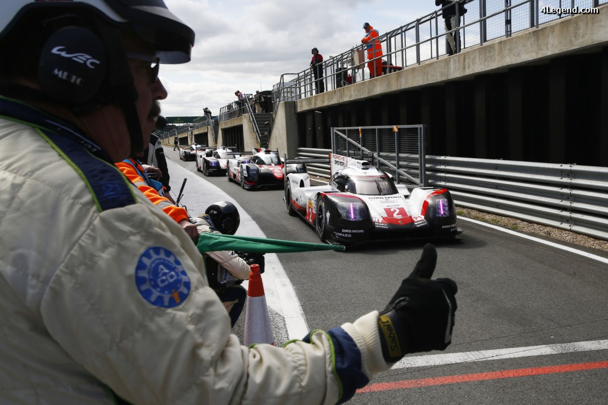 WEC - Les Porsche 919 Hybrid prendront le départ sur la seconde rangée aux 6 Heures de Silverstone