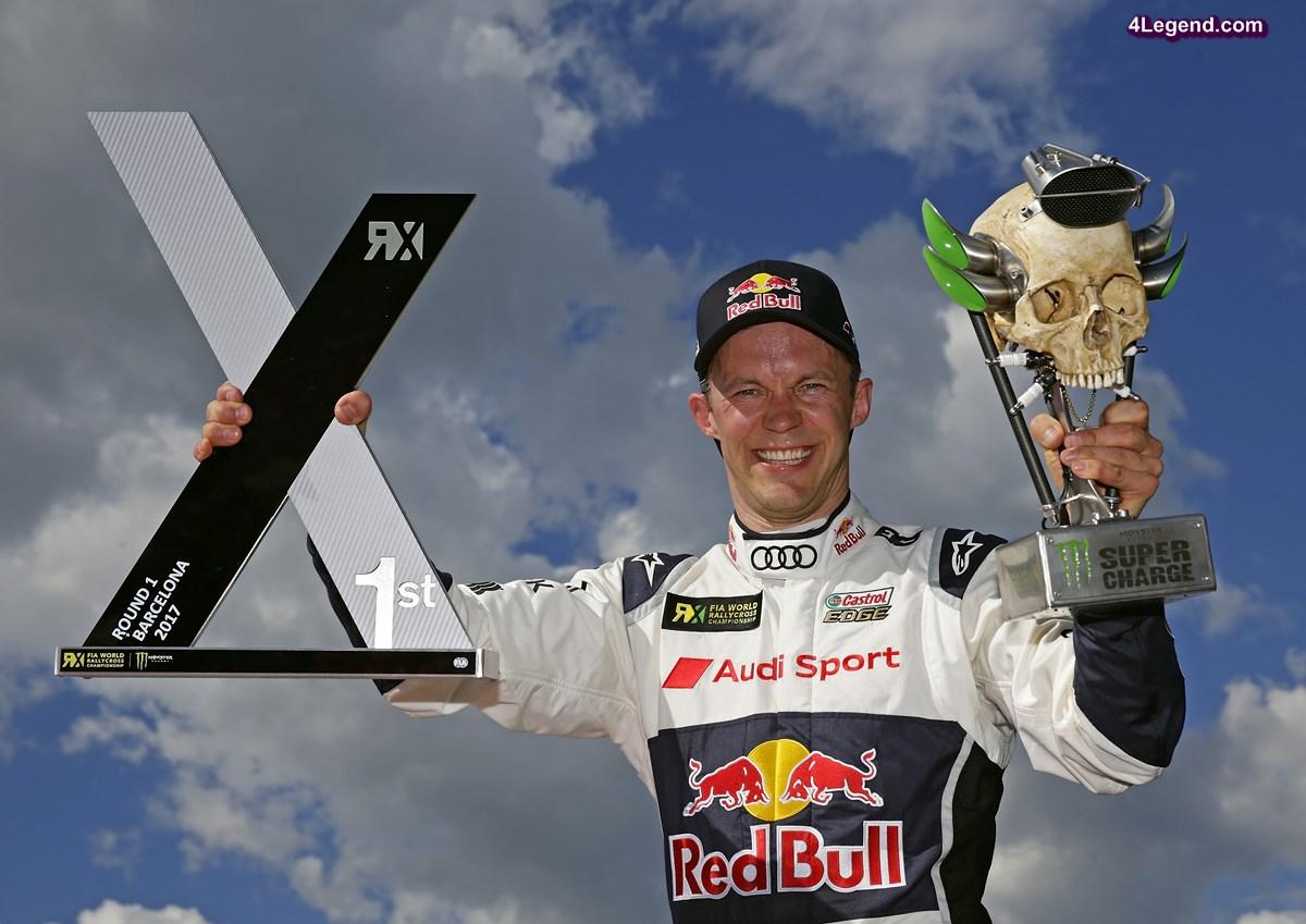 World RX - Une première victoire à Barcelone pour Mattias Ekström avec l'Audi S1 EKS RX quattro