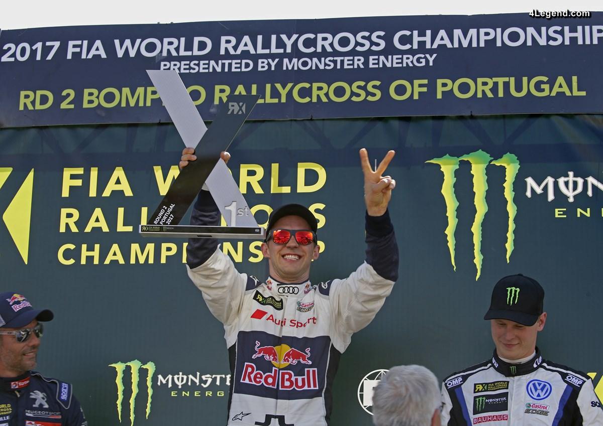 World RX - Victoire de Mattias Ekström au Portugal avec l'Audi S1 EKS RX quattro