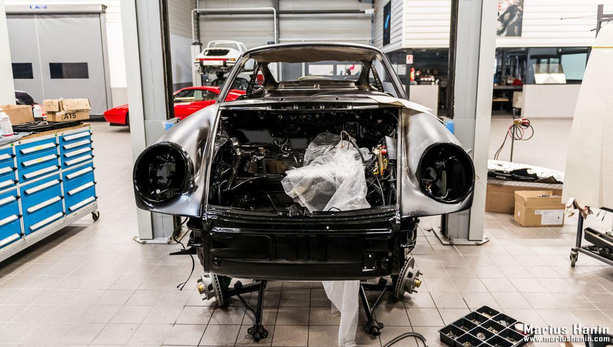 Épisode 5 – Restauration d'une Porsche 911 Carrera 3.2 Clubsport de 1988 par le Centre Porsche Rouen – Concours de Restauration Classic 2017