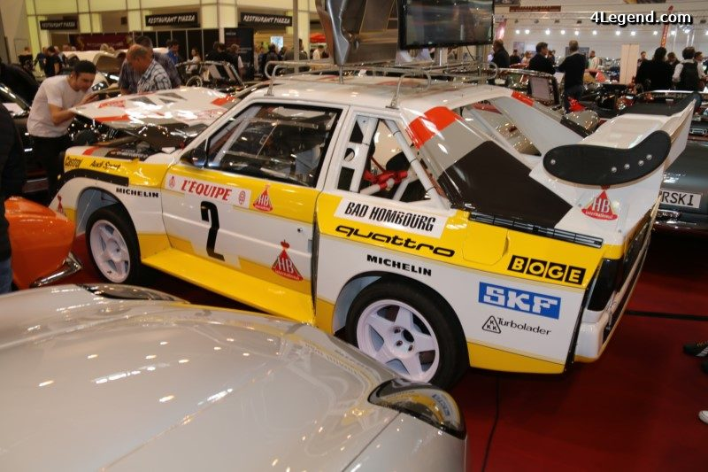 Techno Classica 2017 Fabrication Sur Demande D Audi Sport Quattro S1 E2 Replica Par Race Car Manufaktur Rcm 4legend Com Audipassion Com