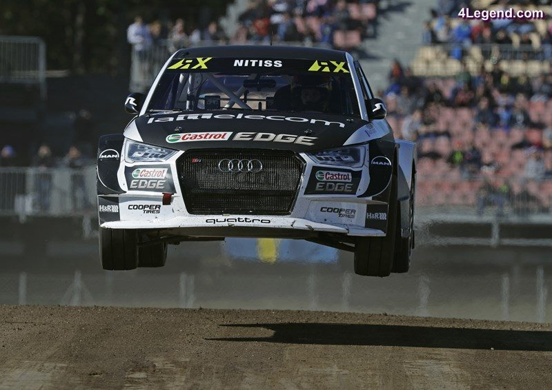 world rx une premi re victoire barcelone pour mattias ekstr m avec l audi s1 eks rx quattro. Black Bedroom Furniture Sets. Home Design Ideas