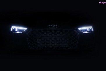 L'Audi R8 V10 plus américaine reçoit les phares Laser de série sur son modèle 2018