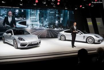 Auto Shanghai 2017 – Porsche dévoile 5 nouveautés en Asie dont la Panamera Sport Turismo et la Panamera Executive
