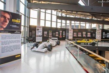 Une exposition consacrée à Ayrton Senna inaugurée au Musée Lamborghini de Sant'Agata Bolognese