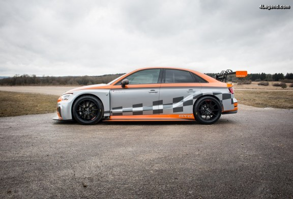 Débuts de la MTM Audi RS 3 LMS en ADAC TCR racing series