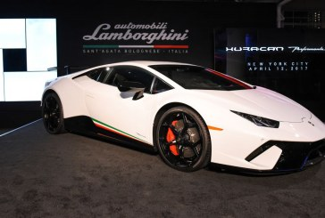 Débuts de la Lamborghini Huracán Performante en Amérique du nord à New York