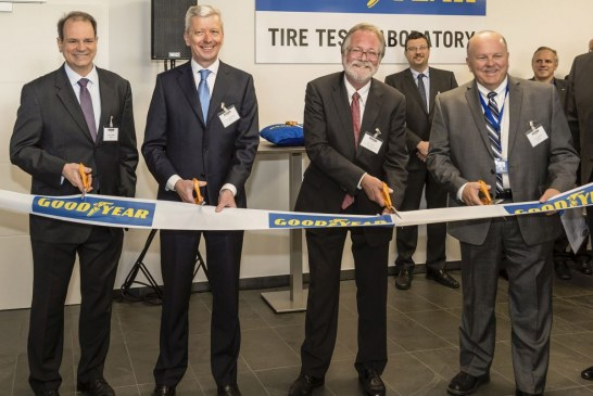 Goodyear investit dans les innovations du futur avec un nouveau laboratoire d'essais de pneus au Luxembourg