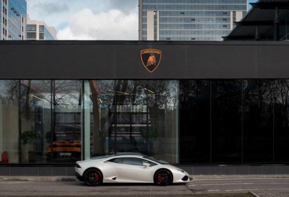 Lamborghini ouvre son premier showroom à Saint-Pétersbourg, en Russie, au nouveau design
