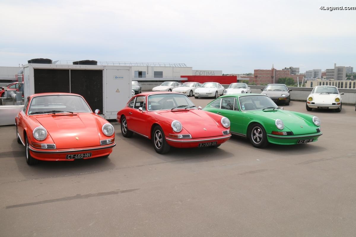 Grande vente aux enchères Porsche dans le garage Mannes - 3ème partie