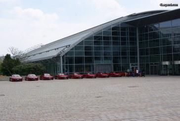Le centre de livraison de voitures Audi à Ingolstadt fête ses 25 ans