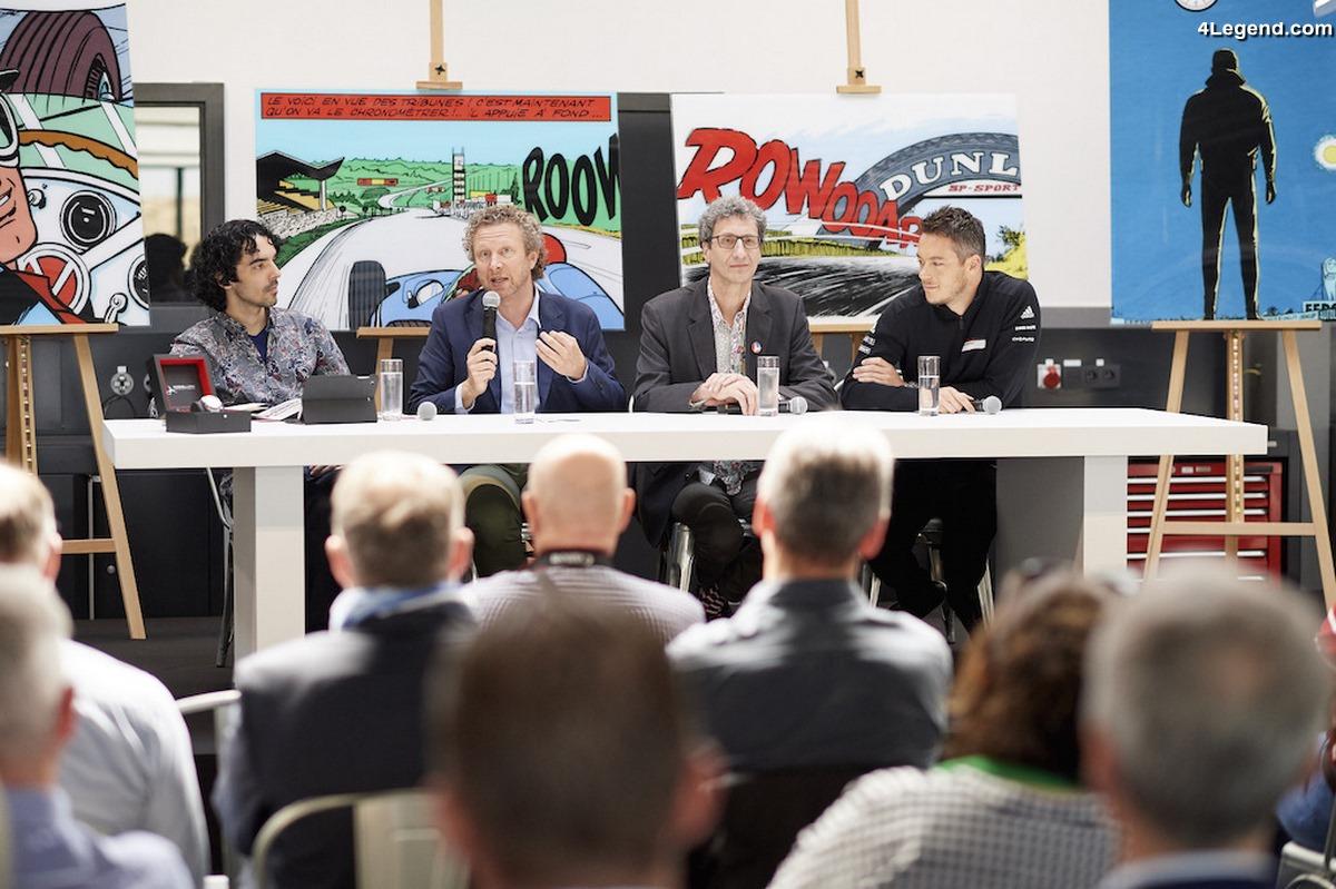 Porsche face à Vaillant « A l'épreuve du Mans » - La nouvelle BD Michel Vaillant