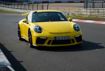 Nouveau record de 7 minutes 12.7 secondes pour la nouvelle Porsche 911 GT3 sur le Nürburgring