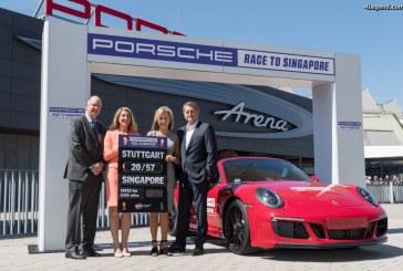 Porsche Race to Singapore – Un nouveau partenariat entre Porsche et la WTA