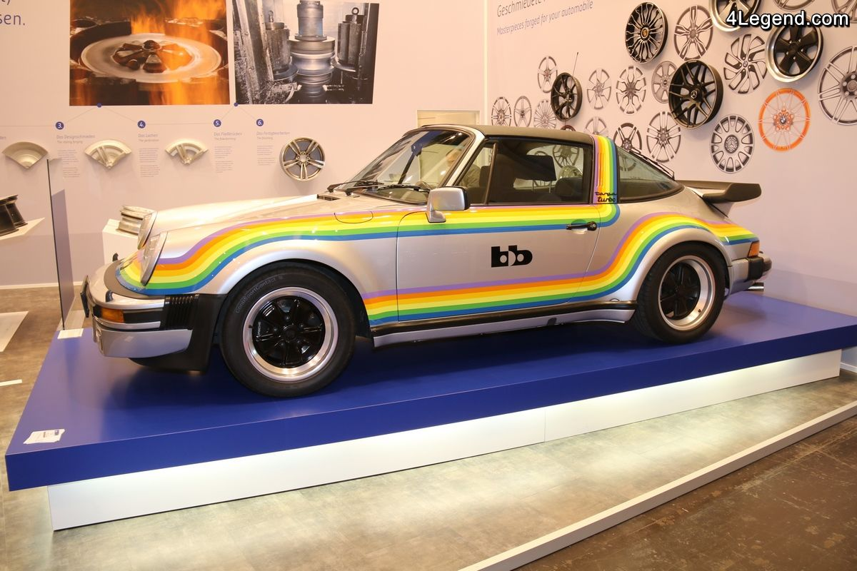 Porsche 911 bb Turbo Targa Rainbow Polaroid de 1976