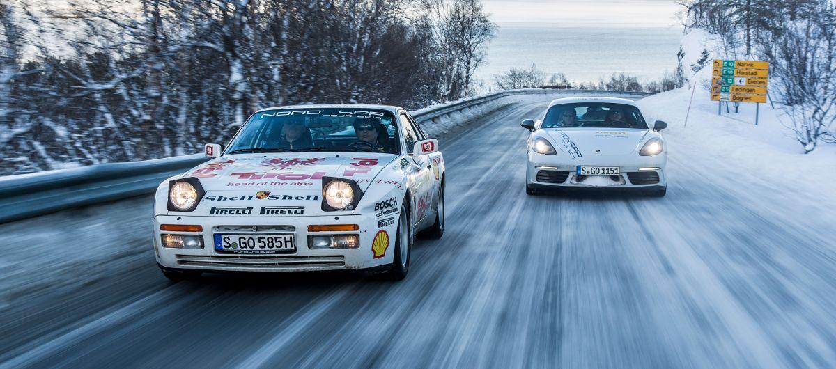 Porsche NordKapp Tour 2017 - Un road trip hivernal en Porsche 944 Turbo et 718 Cayman S au Cap Nord