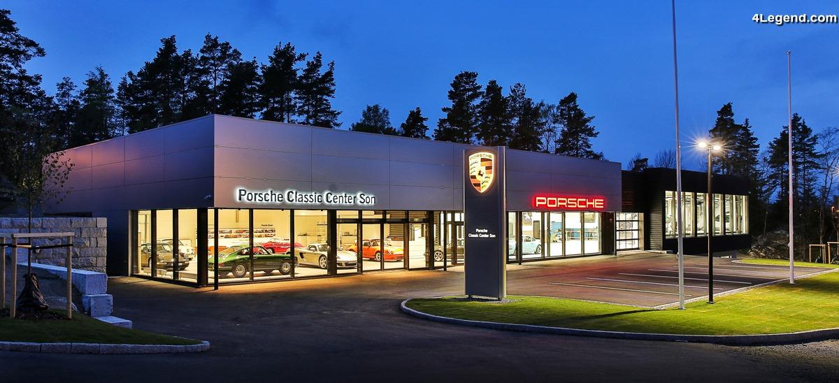 Un nouveau centre Porsche Classic en Norvège