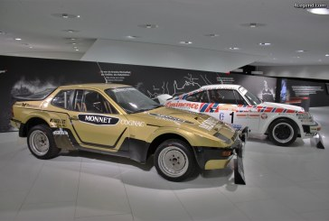 Exposition « genius on wheels » Porsche Museum.
