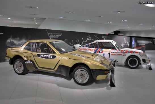 Exposition «genius on wheels» Porsche Museum.