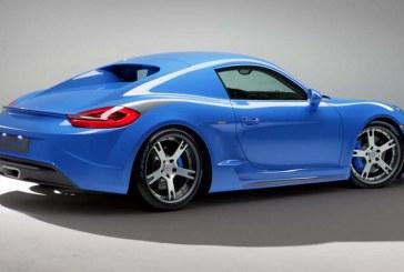 Porsche Cayman S Moncenisio par StudioTorino