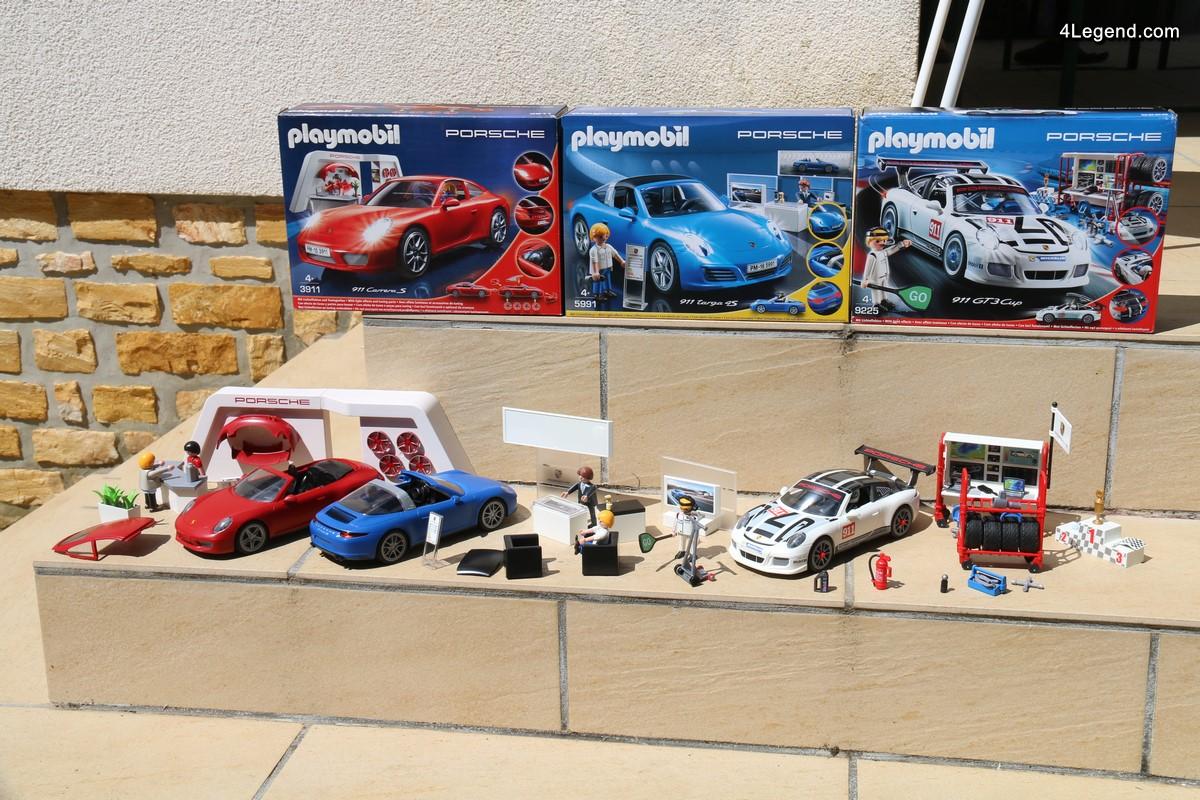Porsche 911 Playmobil - Présentation de la famille complète