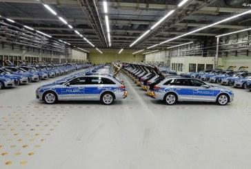 Audi livre des nouvelles A4 Avant B9 à la Police allemande avec des équipements spécifiques