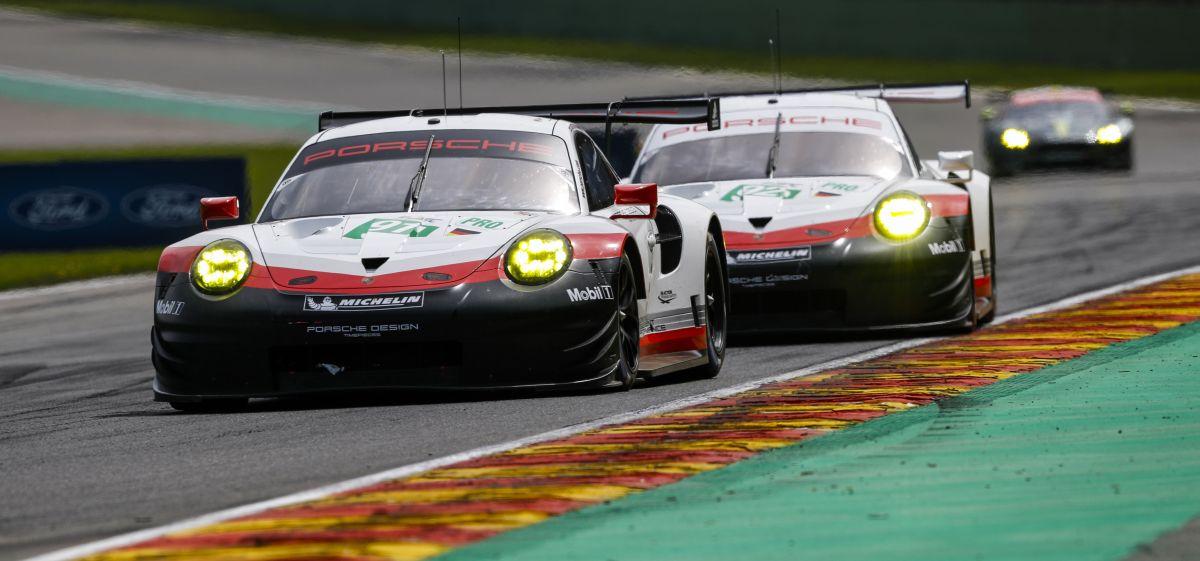 WEC - Les Porsche 911 RSR terminent 5ème et 6ème aux 6 Heures de Spa 2017