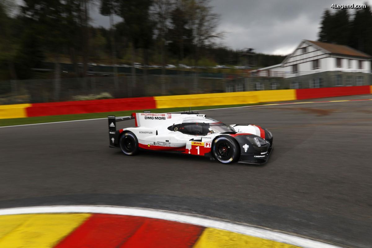 WEC - Porsche et ses pilotes sont prêts pour les 6 Heures de Spa 2017, que cela soit en LMP1 et en GTE-Pro