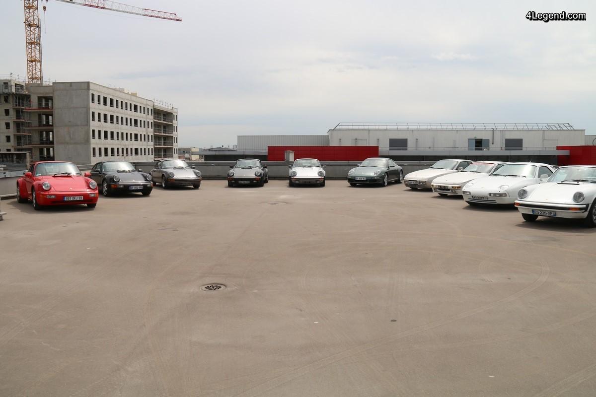 Grande vente aux enchères Porsche dans le garage Mannes - 2ème partie