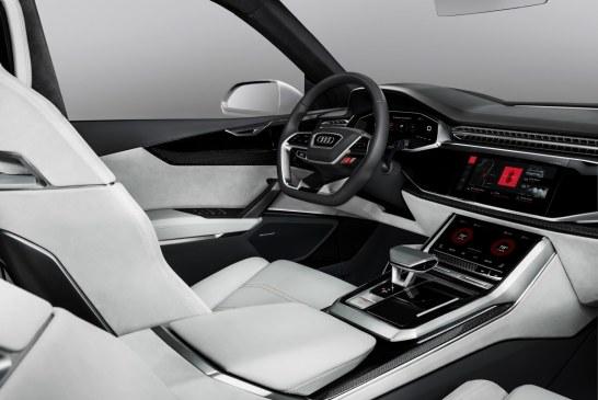Audi présente l'intégration d'Android dans l'Audi Q8 sport concept