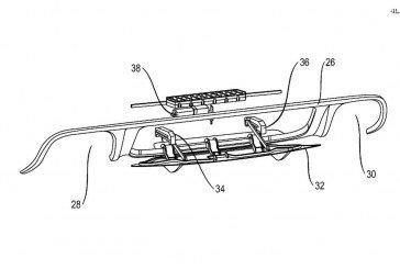 Porsche a déposé un nouveau brevet pour un diffuseur arrière actif pour ses futurs modèles