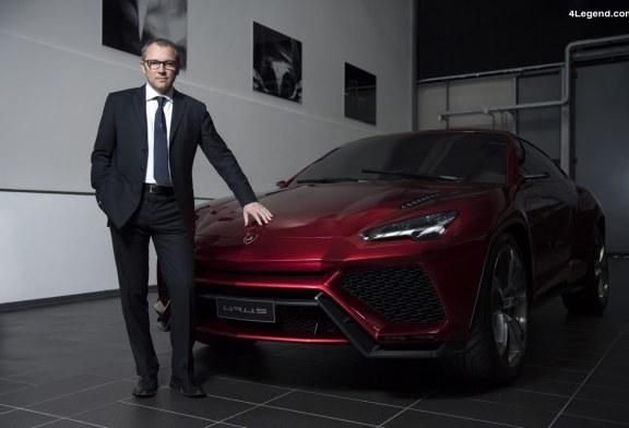 Construction d'un nouvel atelier de peinture à Sant'Agata Bolognese pour le SUV Lamborghini Urus