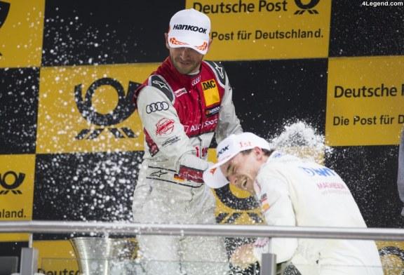 DTM – Premier podium pour le pilote Audi – René Rast – au Lausitzring