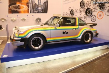 Porsche 911 bb Turbo Targa Rainbow Polaroid de 1976